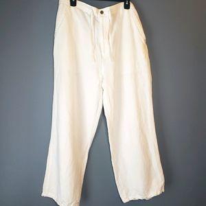 Cubavera linen blend pants sz 36-38